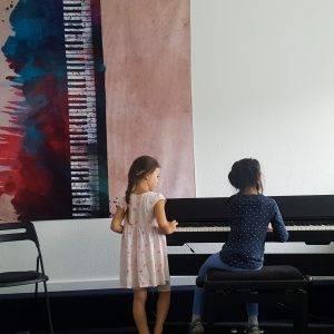 Klavierunterricht, E-Piano