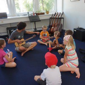 Ukulelenunterricht Kinder Workshop