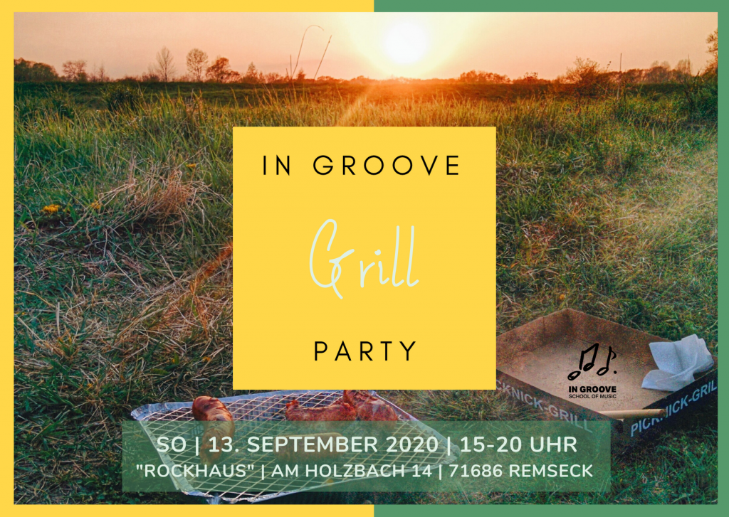 IN GROOVE Grill Party 2020
