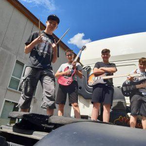 Jugend Band Foto